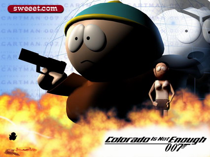 Colorado is not enough, south park, kenny, 007, umorismo