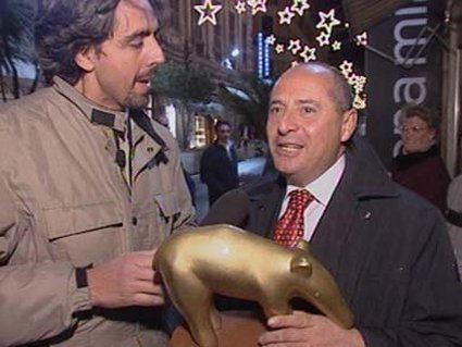 tapiro, consegna, oro