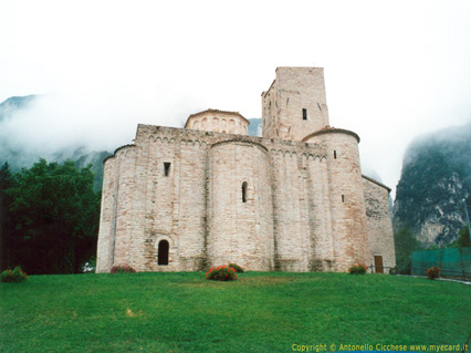 san vittore, frasassi, chiesa, castello, grotte