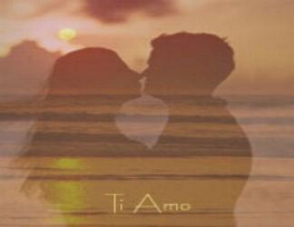 cartoline amanti, fidanzati, sposi, tramonto, parole, dolci, baci, effusioni, mare, stagione, cartolina baci