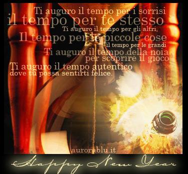 cartoline capodanno, felice anno nuovo, tempo, altri, altruismo, sereno, pace, amore, festa, celebrare