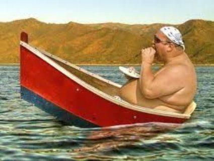 vita, vivere, felici, passioni, estetica, cura, barca, largo, obeso, pancia