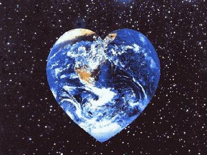 amore, cuore, sentimento, ecologia, gas, terra, salute