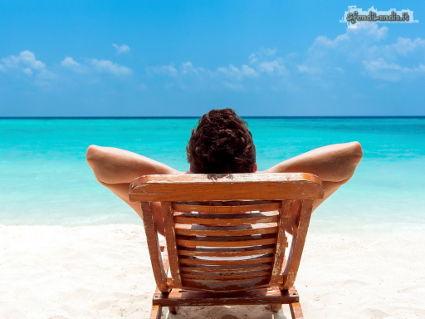 spiaggia, mare, sdraio, serenita, bagni