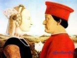 Della Francesca,Dittico dei duchi d'Urbino Federico da Montefeltro e Battista Sforza