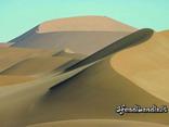 dune, deserto, sole, sabbia, africa, barcane, semicerchio, semiluna, sahara