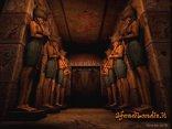 entrata, porta, statue, egizie, dei, credere, politeisti, politeista, Atum ra, iside, osiride, Tefnut, Geb, Nut, Seth, Nefthi