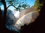 pioggia, sole, filtrare, raggi, solari, come, prisma, scindere, raggio, luce, in, componenti, colore, gocciolina, sette, gradazioni