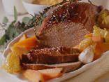 carne, tagliare, fetta, fettina, patate, abinare, salsa, aceto, olio, forno