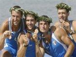 cartoline canoa, successo, inatteso, gioia, festa, alloro olimpico