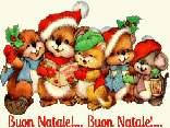 scoiattoli, criceti, amici, fedeli, cantare, cori, natale, musica, allegria