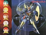 daitarnIII, trio, japan, cartoni, animati, giapponese, robot, spazio, astronavi