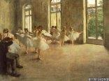 edgar, olio, tela, fogg, art, museum, Harvard University, Cambridge, danzatrici, balli, finestre, impressionista