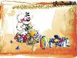 cartoline pasqua diddl, festa, rinascita, pasquetta, campi verdi, diddl auguri, uova dipinte