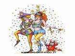 cartoline carnevale, feste, mashere, scherzi, divertimento, giochi, coriandoli, venezia, viareggio, mascherine sexy