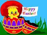 cartoline pasquali, uovo, pulcino, colori, pasqua, auguri, gioia, allegria, occhiolino