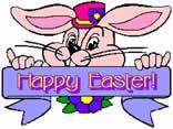 cartoline coniglio pasquale, auguri pasquali, animati, pasqua, festa