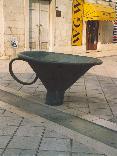 imbuto, simbolo, citta, croata, croazia, spalato, split, palazzo, diocleziano, strada, mezzo, imbuti, scultura