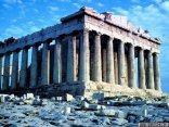 antichi, greci, monumento, colonne, fidia, atene