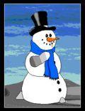 natale, pupazzo, neve, auguri, festa, gioia, scherzi, bambini, giochi