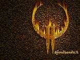 cartolina quake, lotta, armi, multiplayer, arena, mostri, alieni, combattere, missioni, 1, 2, 3, fenomeno, simbolo quake