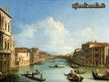 venezia, canaletto, Canal Grande da palazzo Balbi, quadri, pittori
