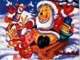 slitta, neve, sciare, amici, regali, miele, barba, bianca, polo, nord, casa, babbo natale